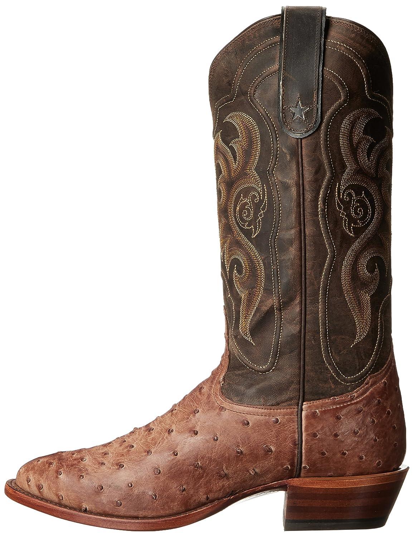 4d0ca3cb507 Tony Lama Boots Men's Vintage Ostrich 8965 Western Boot