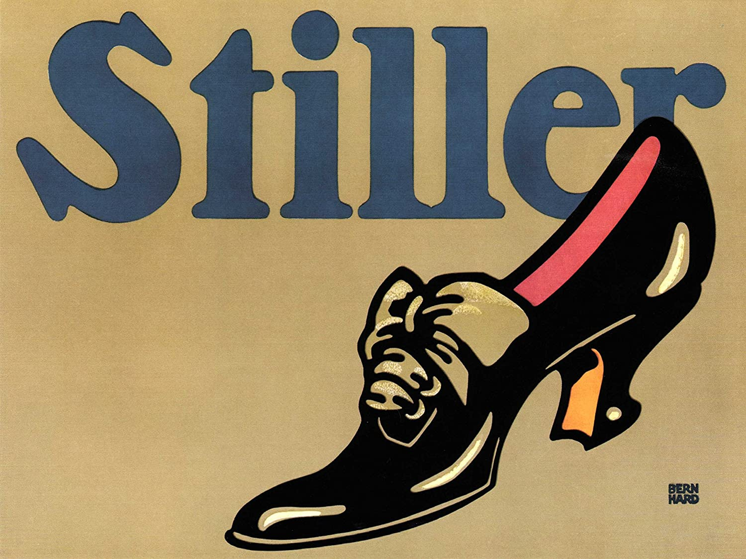Stiller Shoe Germany Vintage Advertising Retro Wall Art Poster Print:  Amazon.co.uk: Kitchen & Home