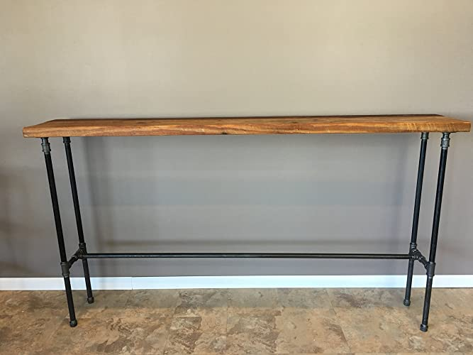 Entry Table, Hallway Table, Nook Table,42 Inch High,Bar Height Wood