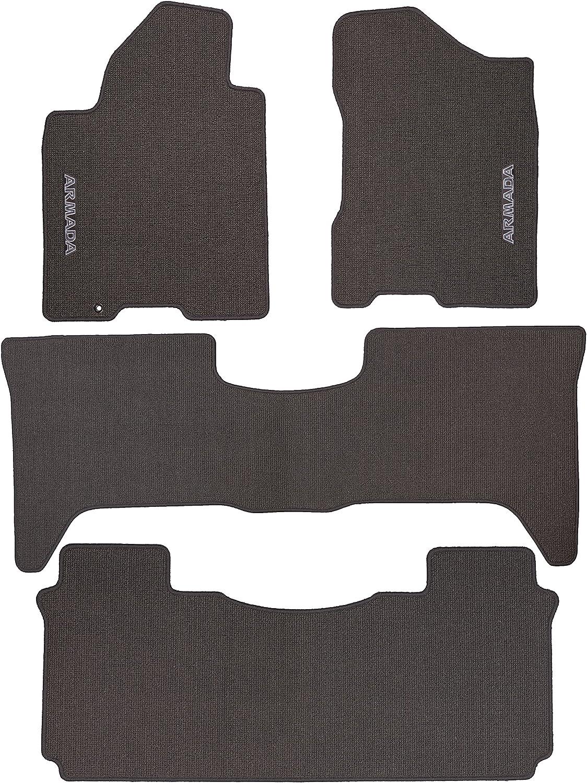 Black Nylon Carpet Coverking Custom Fit Front Floor Mats for Select Chrysler 200 Models