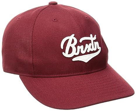 68870eb7a12 Amazon.com  Brixton Men s Bert Snapback