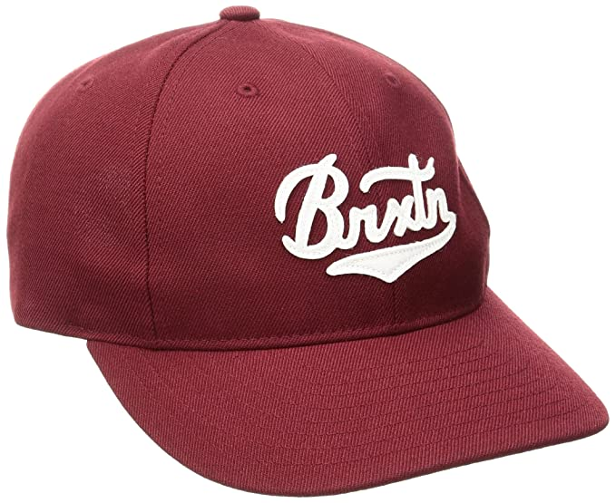 Gorra Bert de Brixton - Burdeos - Ajustable