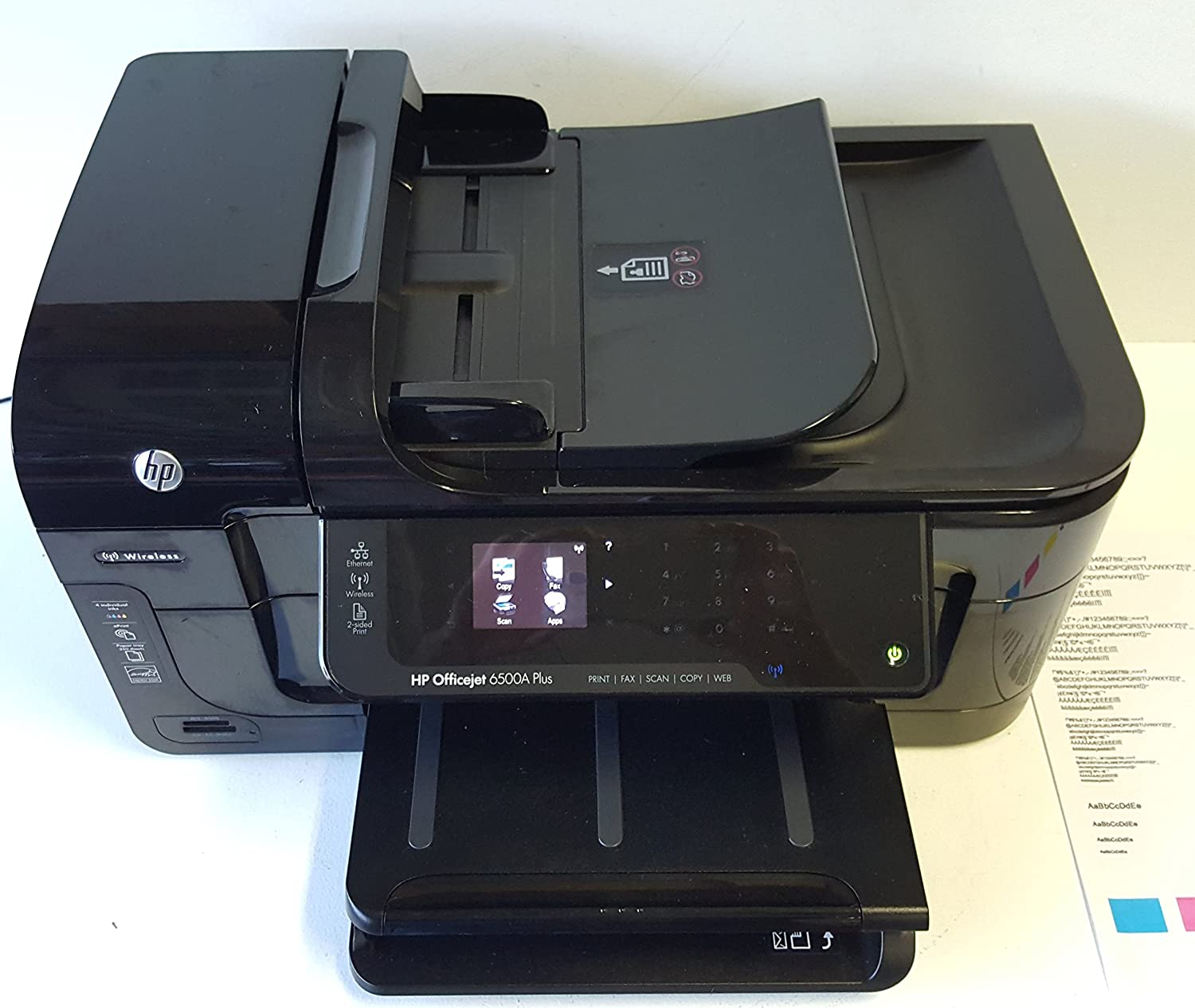 Amazon.com: HP Officejet 6500A Plus e-All-in-One Inkjet Printers:  Electronics
