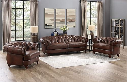 Hydeline Newport 100 Leather Set