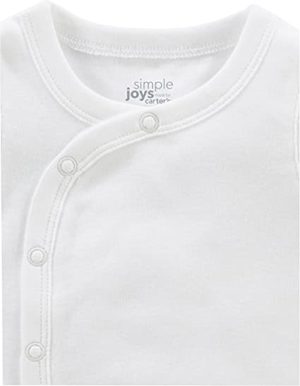 Simple Joys by Carters B/éb/é gar/çon 6-pack Side-snap Short-sleeve Shirt