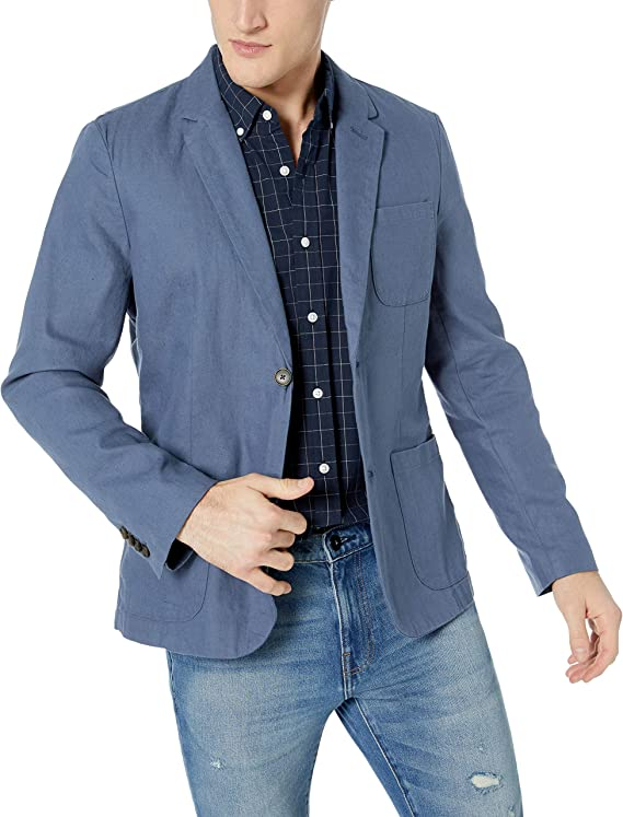 blazer with a front pocket