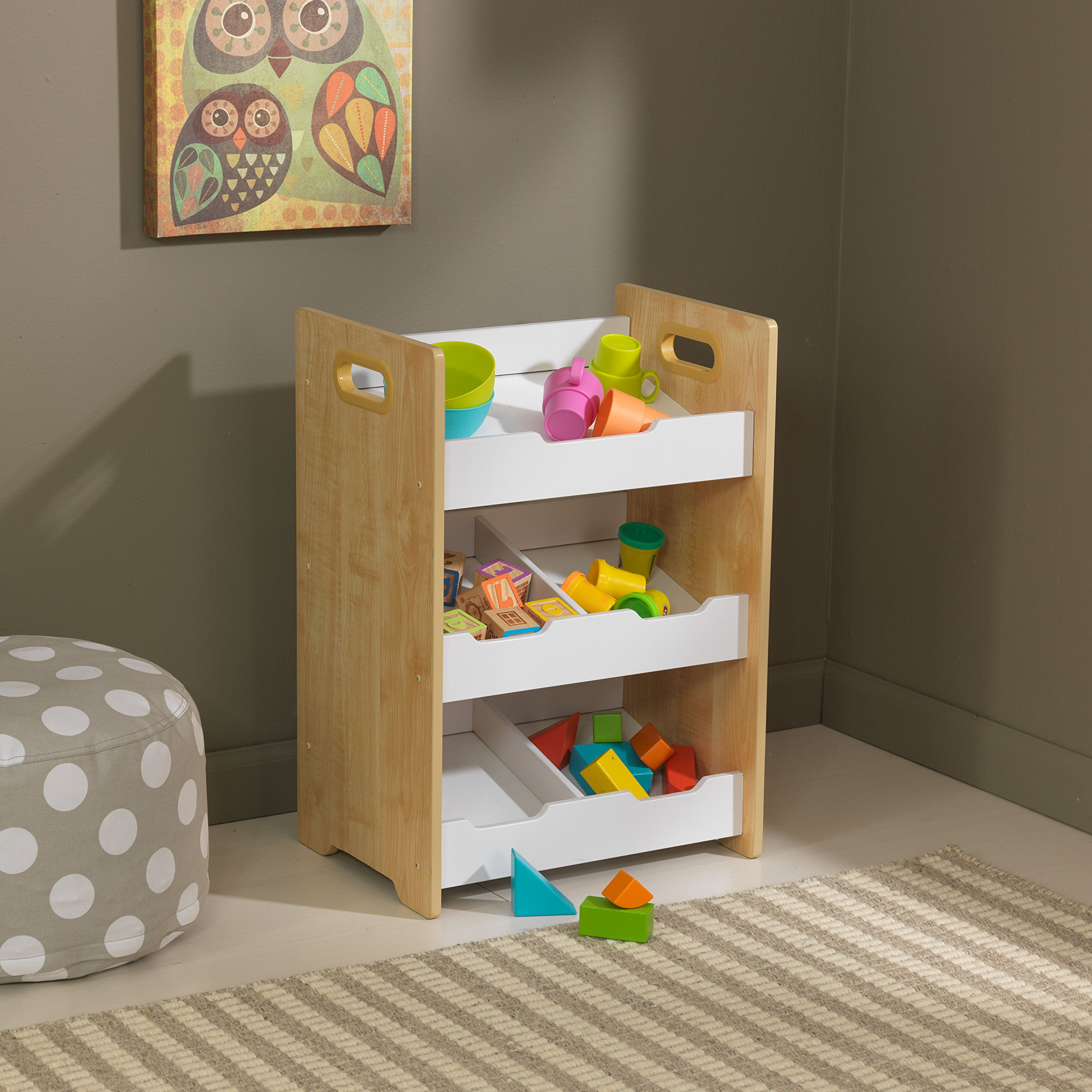 Amazing KidKraft Storage Bin, Natural/White