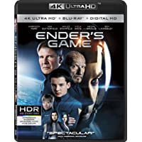 Deals on Enders Game 4K Ultra HD + Blu-ray