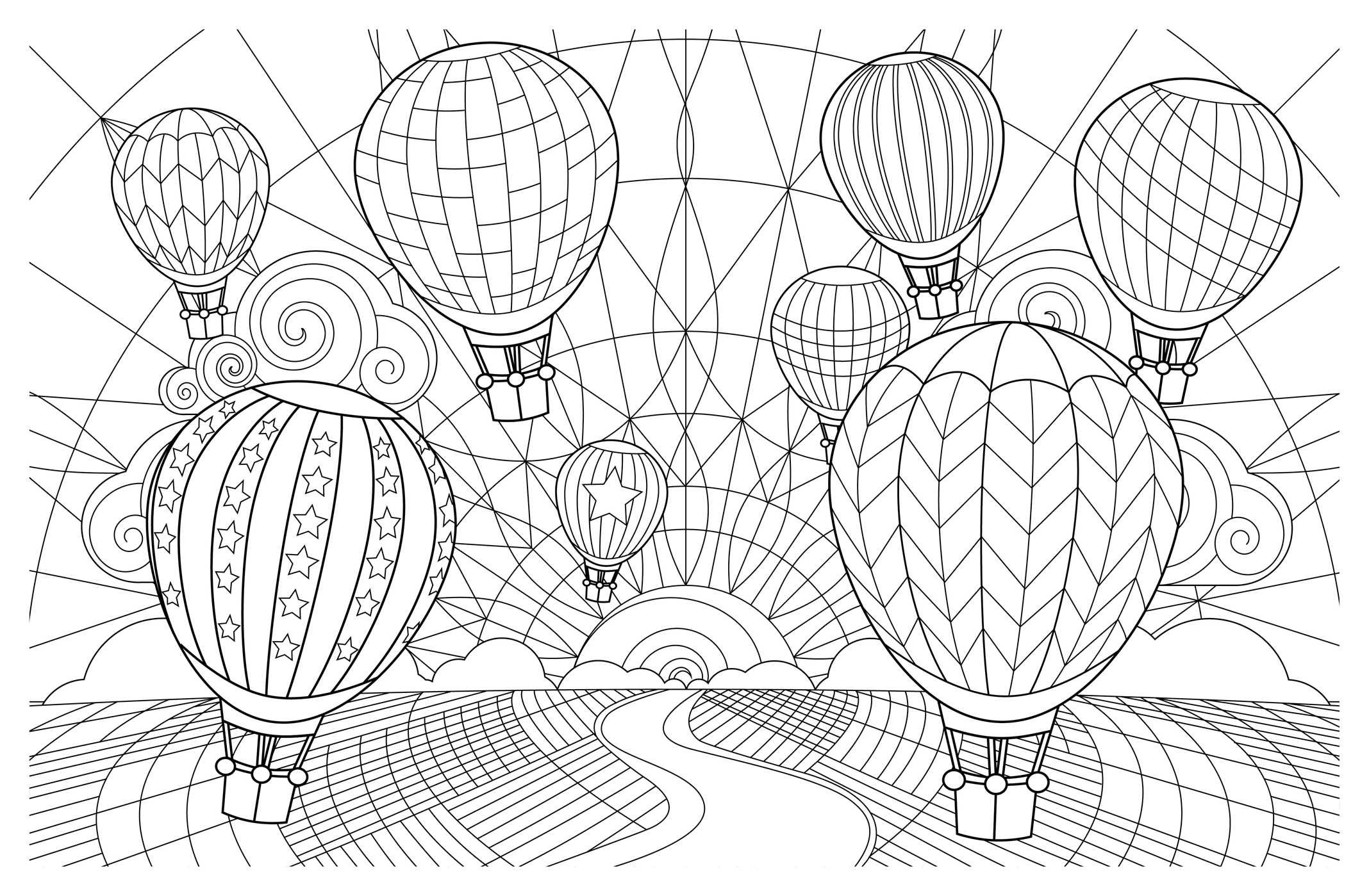 Amazon Posh Adult Coloring Book Artful Designs for Fun