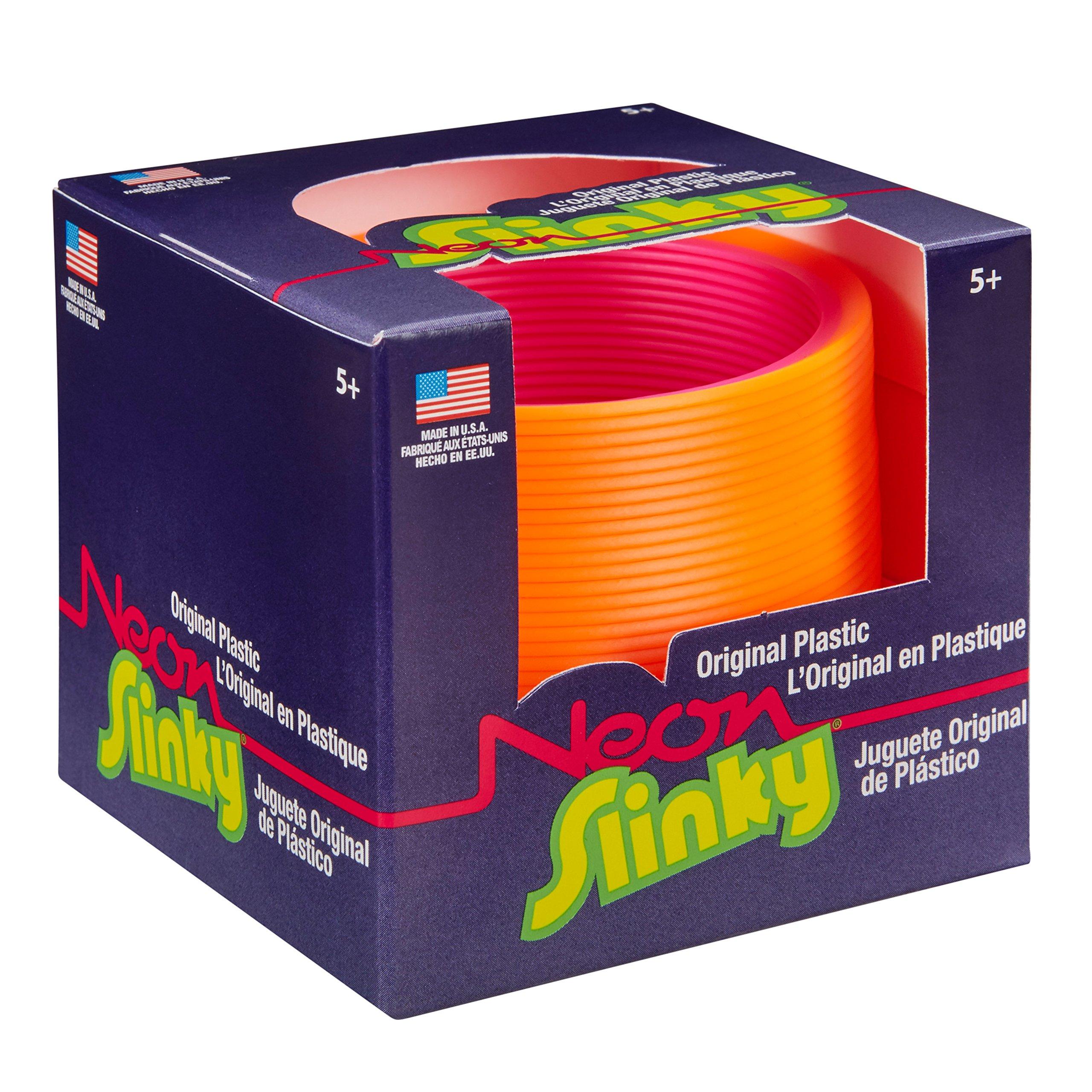 POOF The Original Slinky Brand Neon Plastic Slinky