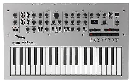 c898f524f4e Amazon.com: Korg Minilogue 4-Voice Polyphonic Analog Synth with ...