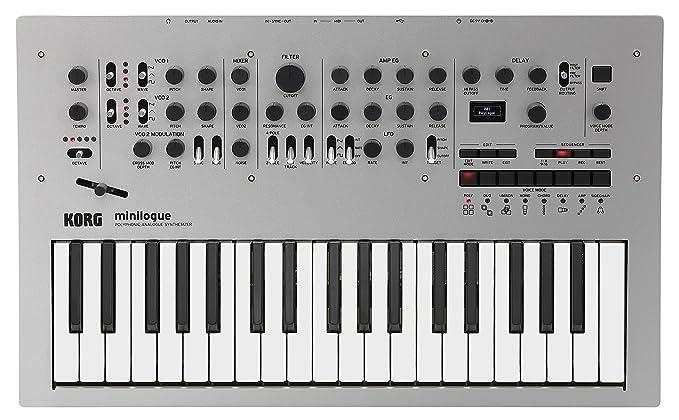 3 opinioni per Korg Minilogue 4-voice Synth analogico con preimpostazioni polifoniche
