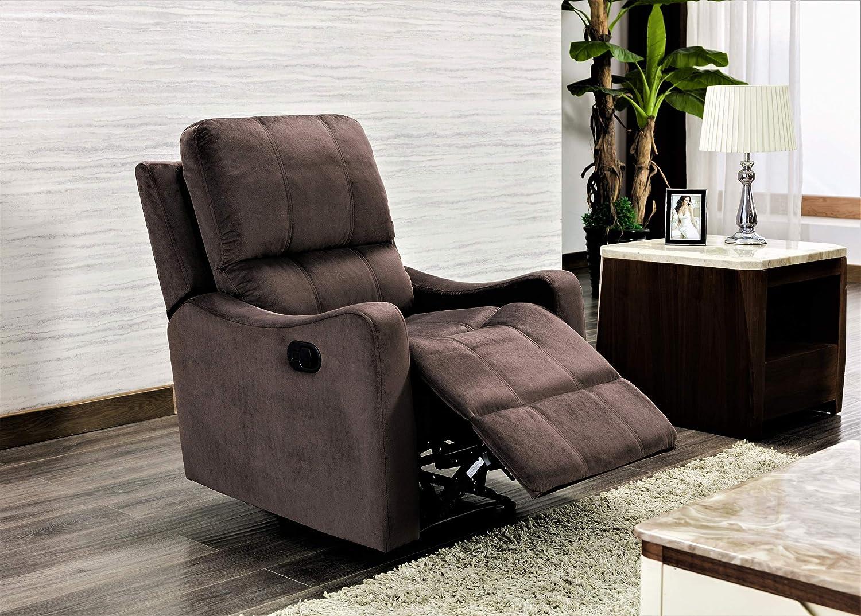 US Pride Furniture Chair, Brown