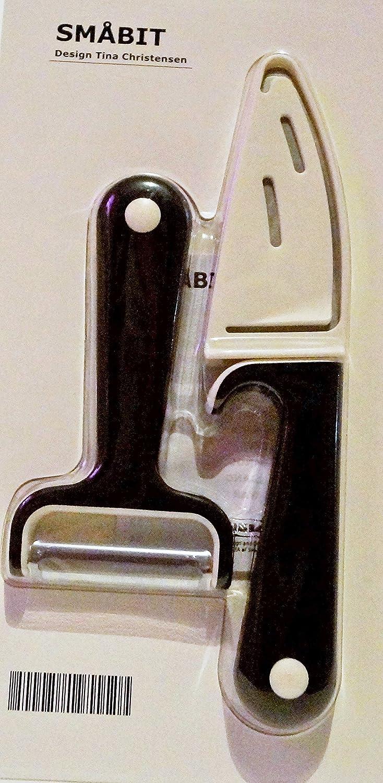 Amazon.com: IKEA smabit, cuchillo de pelar y un pelador ...