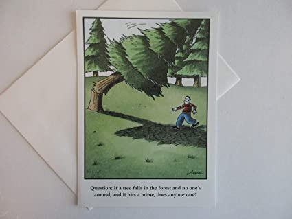 Amazon the far side by gary larson vintage 1992blank inside the far side by gary larson vintage 1992quotblank insidequot greeting card with envelope m4hsunfo