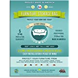 6 Foot Standard Sofa or Couch Storage Bag. 3 Mil-heavy Duty
