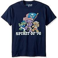 Liquid Blue Mens Grateful Dead Spirit of '76 Short Sleeve T-Shirt T-Shirt