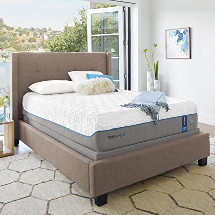 Com Tempur Pedictempur Cloudluxe Breeze 13 5 Inch Extra Soft Cooling Foam Mattress Queen Made In Usa 10 Year Warranty Kitchen Dining