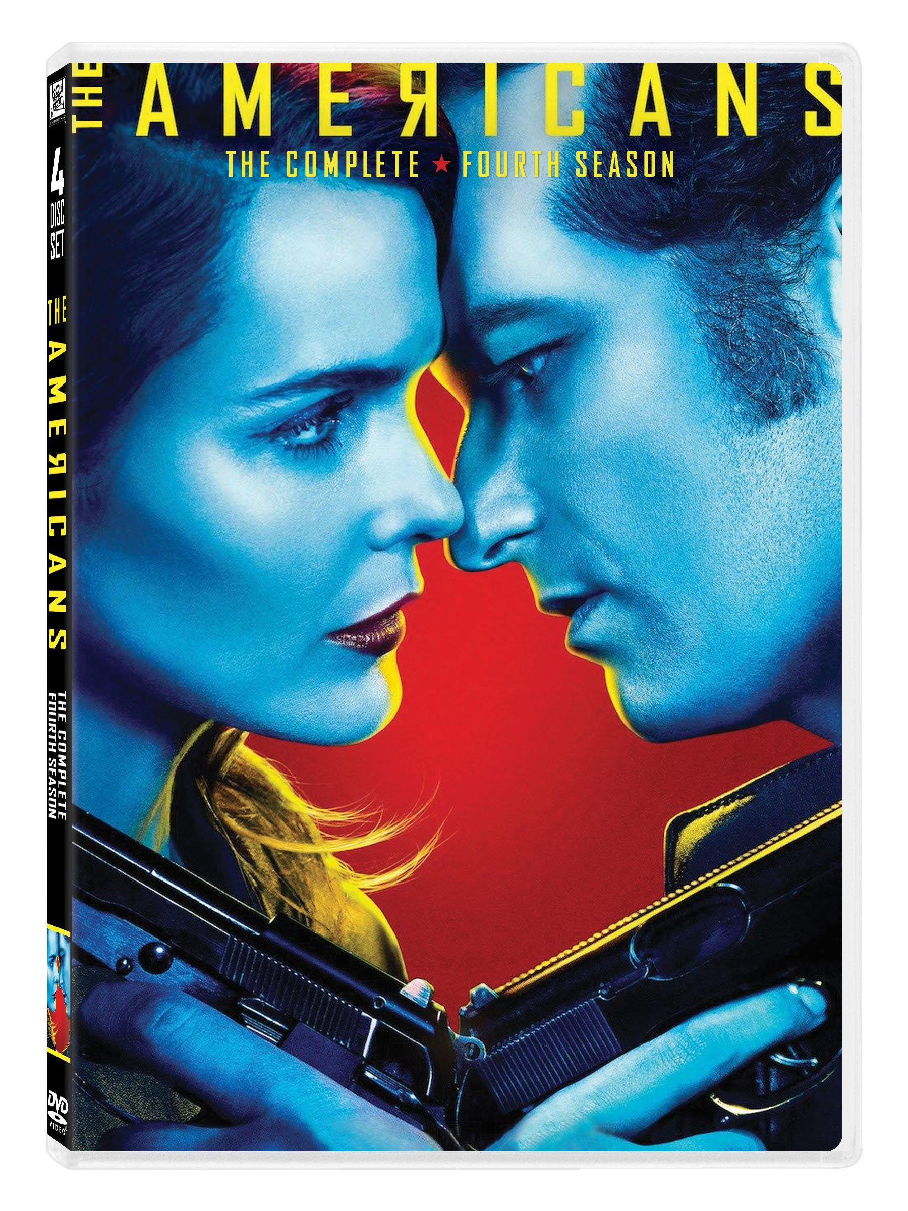 DVD : The Americans: The Complete Season Four (Boxed Set, Widescreen, Dolby, AC-3, )