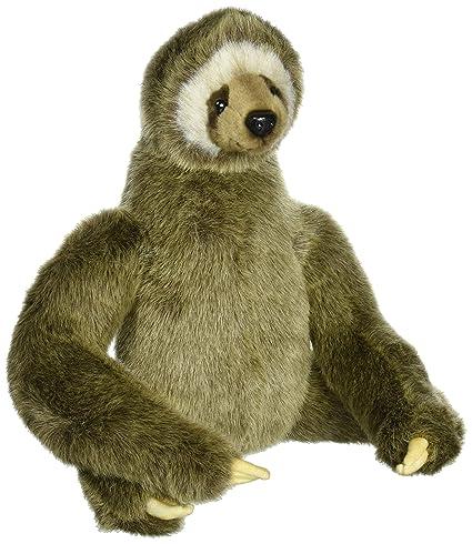 Amazon Com Hansa Three Toed Sloth Plush Toys Games