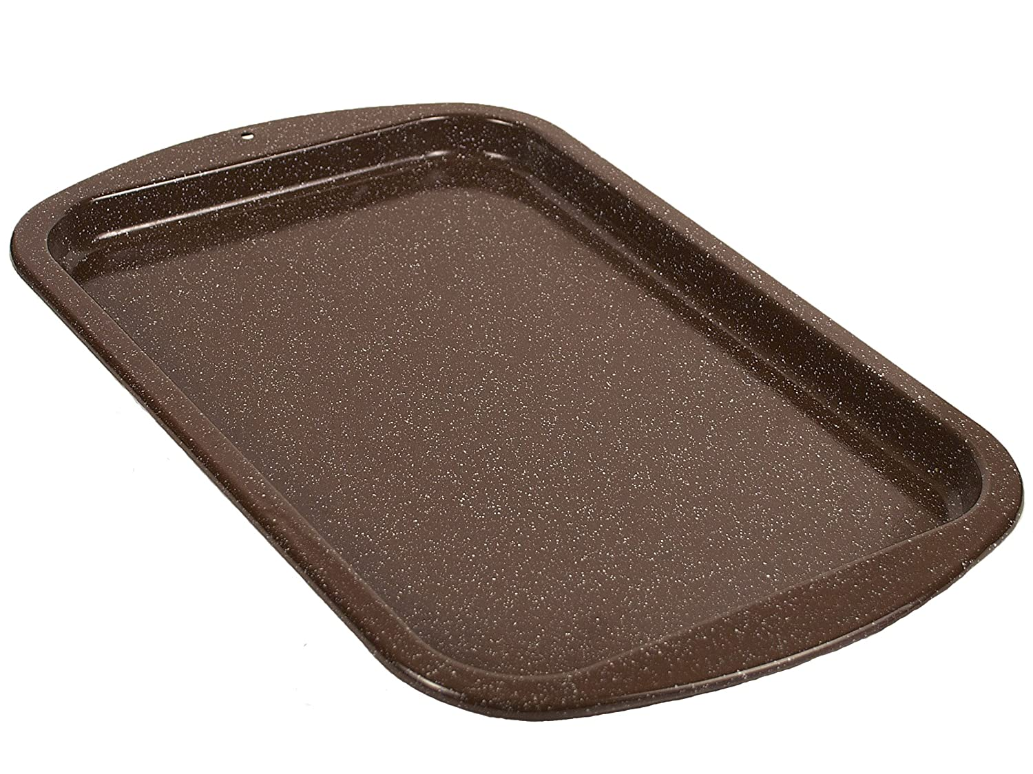 Granite Ware F0626 16 by 11-Inch Better Browning Cookie Sheet, Large