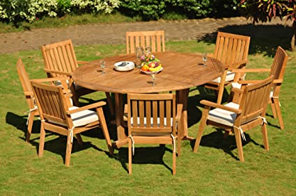 Outdoor Dining Table Seats 8