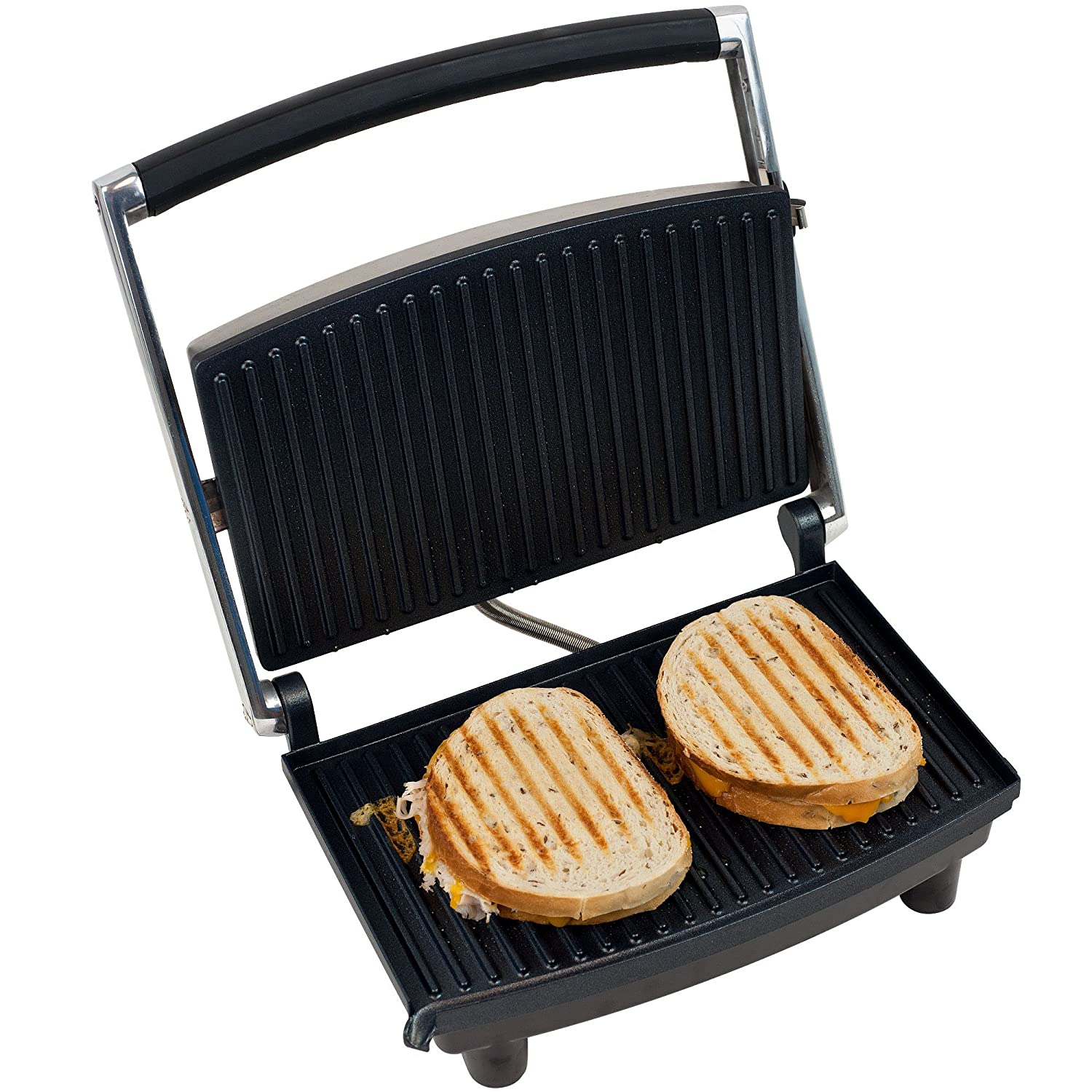 Amazon Chef Buddy 80 1840 Panini Press Grill and Gourmet
