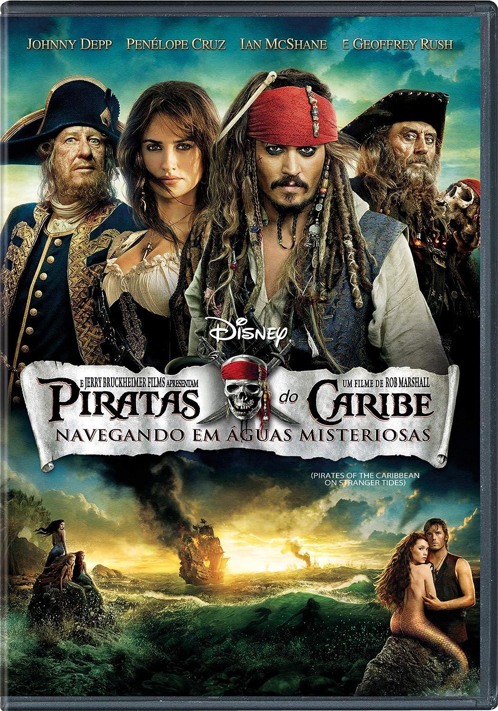 Piratas Do Caribe: Navegando Em Águas Misteriosas [DVD] Simples |  Amazon.com.br