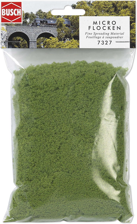 Busch-7327 Micro-Flocken hellgrün
