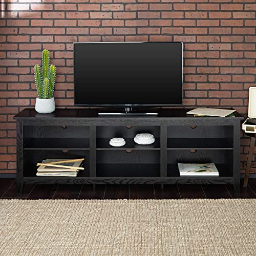 Home Accent Furnishings New 70 Inch Wide Black Television Stand