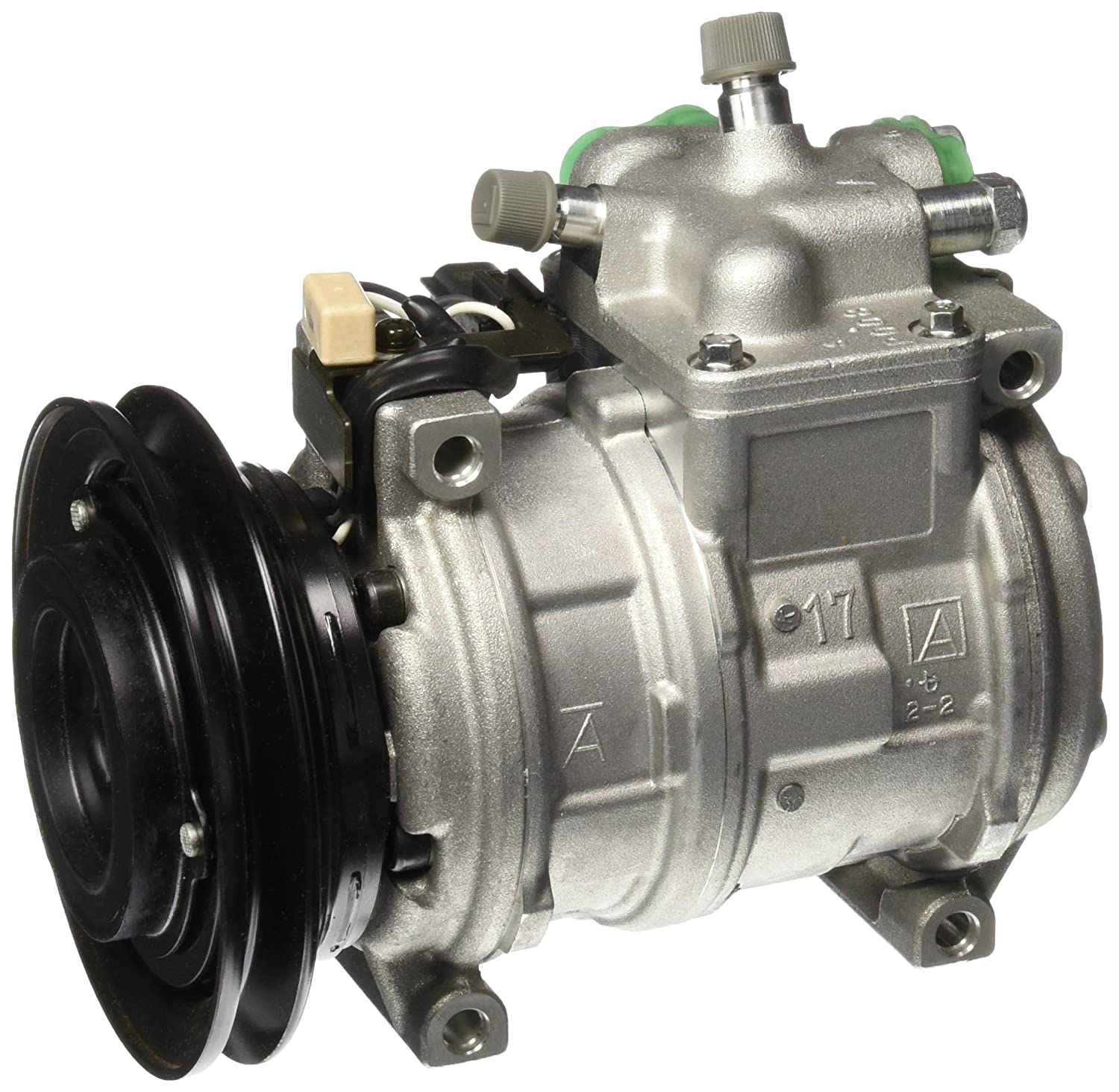 Denso 471-0357 New Compressor with Clutch 471-0357-DEN