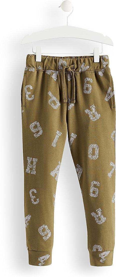 Marca Amazon - RED WAGON Pantalones de Deporte Vintage Print Niños ...