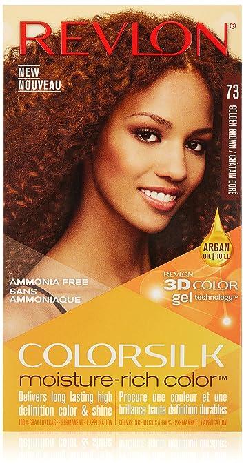 Amazon Revlon Colorsilk Moisture Rich Hair Color Golden Brown