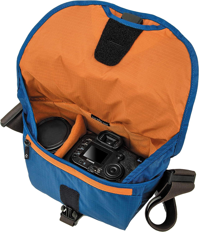 Steel Grey Crumpler LD4000-010 Light Delight 4000 Sling Bag for SLR Camera with 2 Lens