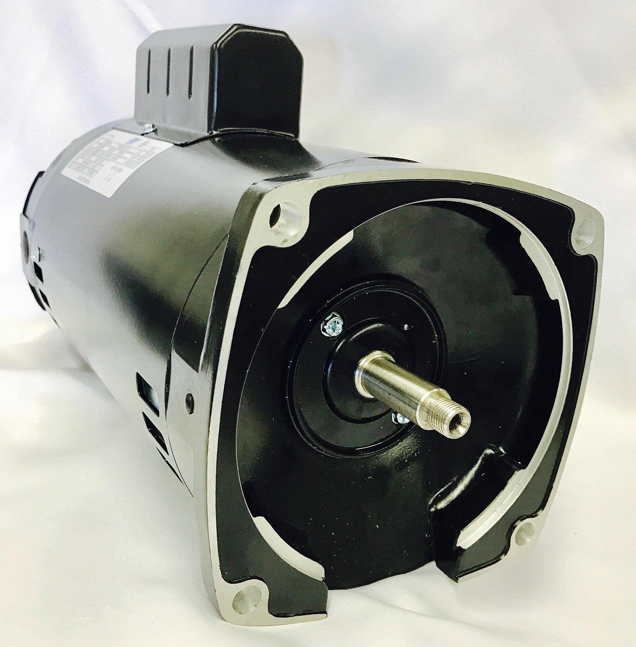 GW YYN5682-L7 2 HP, 3450RPM, 1.3 Service Factor, 56Y Frame, ODP Enclosure, 208-230V, Square Flange Pool Motor by GW