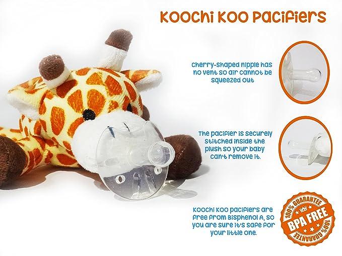 Chupete de animales jirafa: Amazon.es: Juguetes y juegos