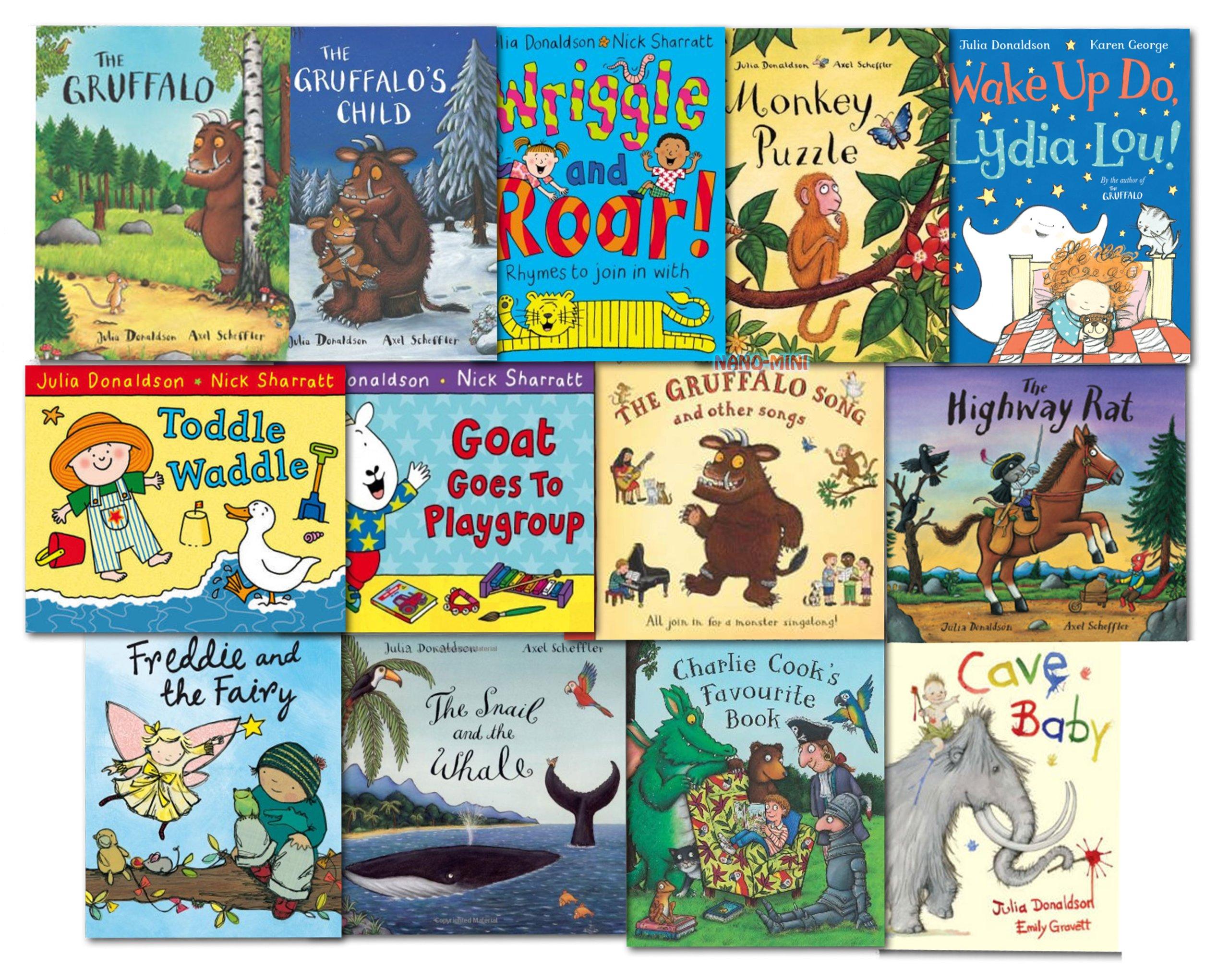 Julia Donaldson Collection 13 Books Set Pack NEW: Amazon.es: Julia Donaldson: Libros
