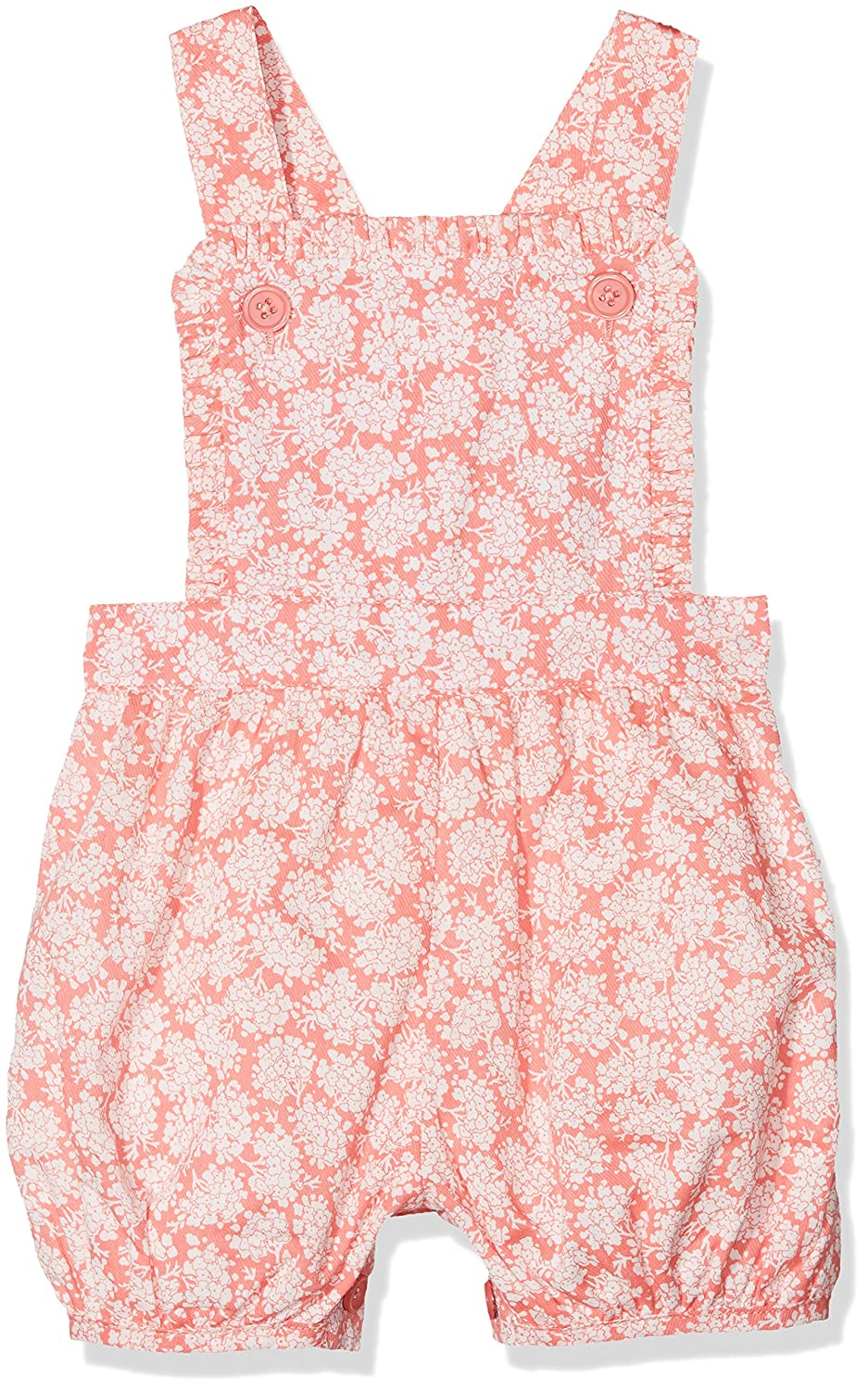 Rachel Riley Baby Girls Floral Frill Dungarees Dungarees