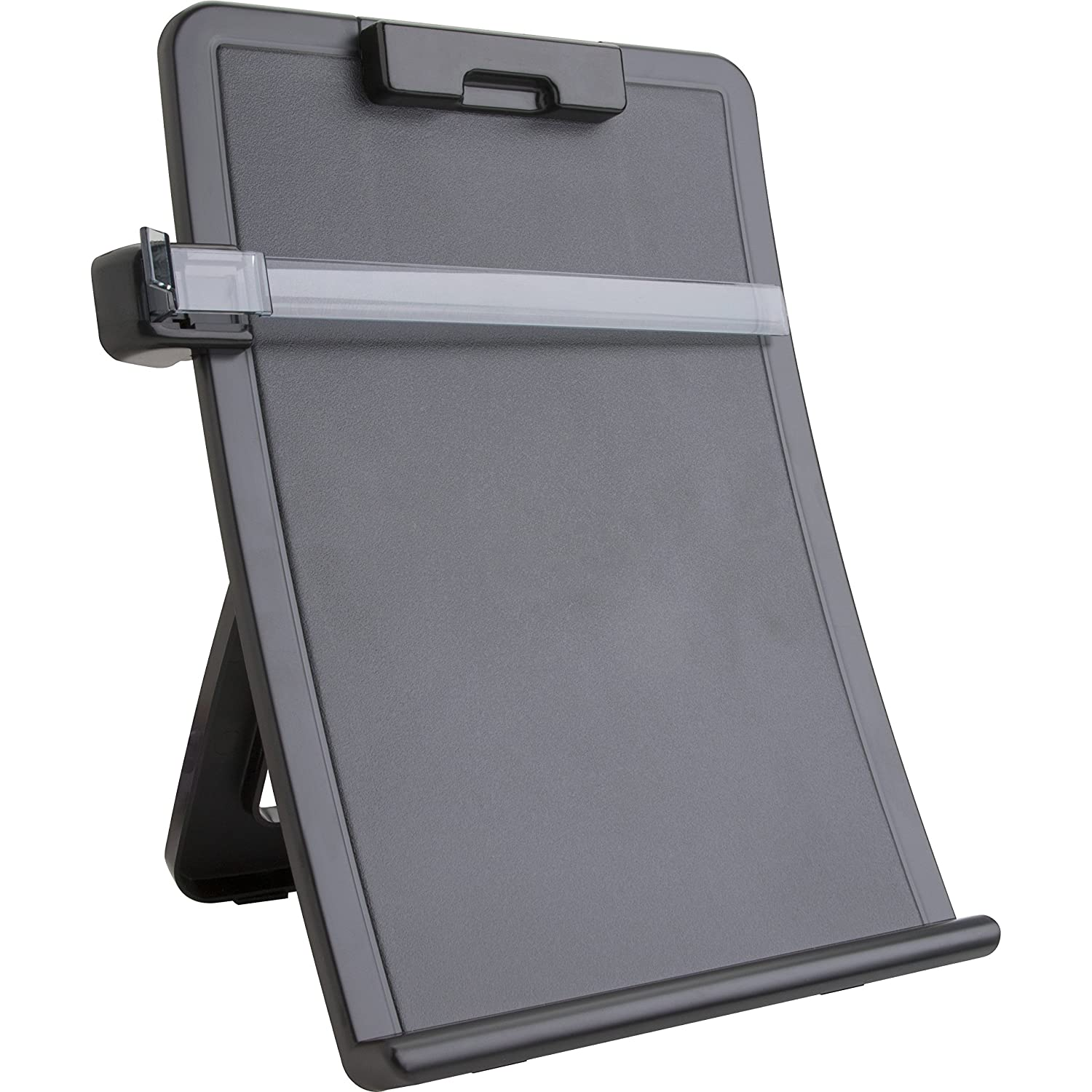 Sparco Easel Document Holders, Adjustable, 10 x 2-1/2 x 14-3/8 Inches, Black (SPR38951)
