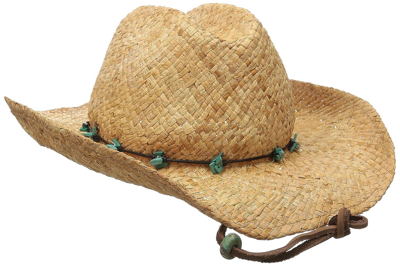 853d8e548e6 Greg Bourdy Scala Womens Straw Cowboy Hats