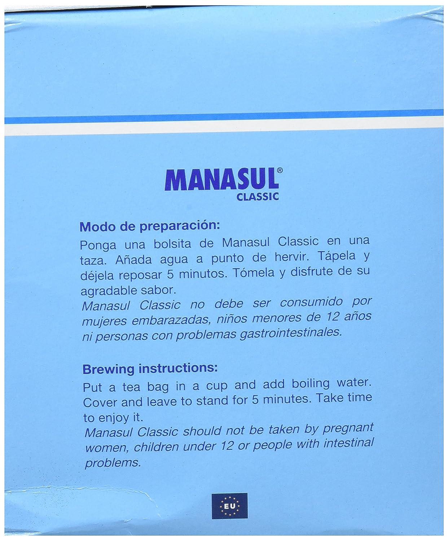 RINTER CORONA - MANASUL CLASSIC 100 BOLSITAS: Amazon.es: Salud y cuidado personal
