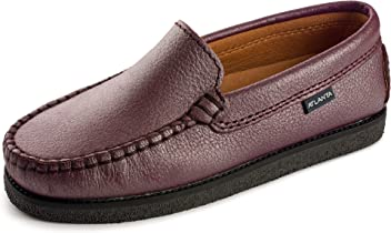 25f9c90365f4d Atlanta Mocassin Girl's Slip On Moccasin Loafer Flat Shoe