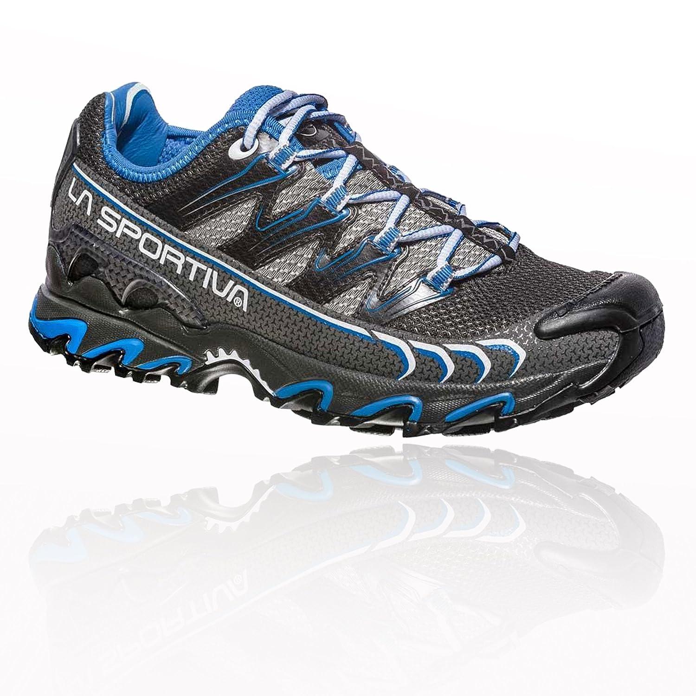 La Sportiva Ultra Raptor Woman, Zapatillas de Trail Running para Mujer 37.5 EU|Multicolor (Carbon/Cobalt Blue 000)