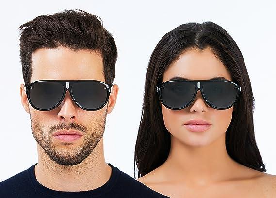 "b58a7b32b6 Amazon.com  PRIVÉ REVAUX ICON Collection ""The McQueen"" Designer Polarized  Aviator Sunglasses  Clothing"