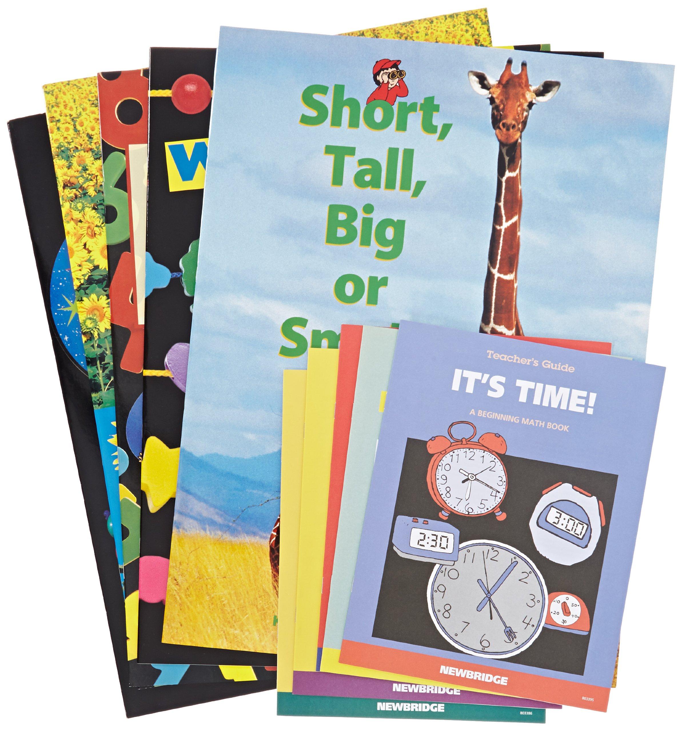 Childcraft Math Big Book Set 2 - 14 x 20 inches - Set of 5 Books