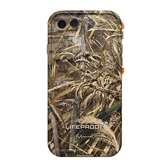 official photos 3ce08 0a012 Lifeproof FRĒ SERIES Waterproof Case for iPhone 7 (ONLY) - Retail Packaging  - REALTREE MAX 5 ORANGE (BLAZE ORANGE/DARK FLAT EARTH/MAX5 HD DESIGN)