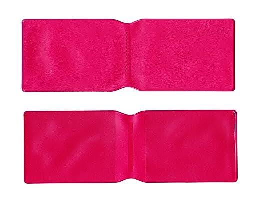 1 x Rosa Oscuro Plástico Tarjeta Oyster Tipo Cartera/Cartera ...