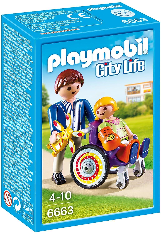 Playmobil Kind im Rollstuhl
