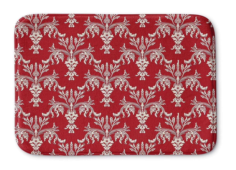 KAVKA DESIGNS Christmas in Plaid Red 3 Bath Mat 24 x 36 BMA-SUML-36X24-TEL1034