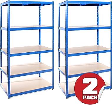 G-Rack 27 Estanter/ía de garaje 3 Bay Azul